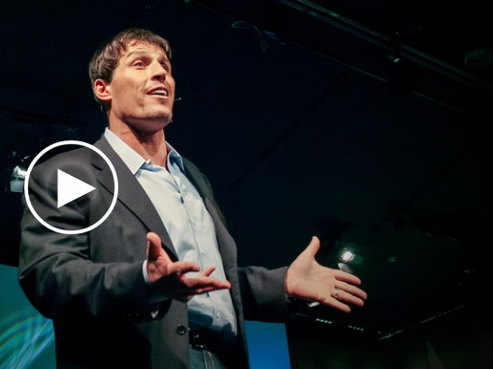Tony Robbins TED Talk (Decisions & Destiny)