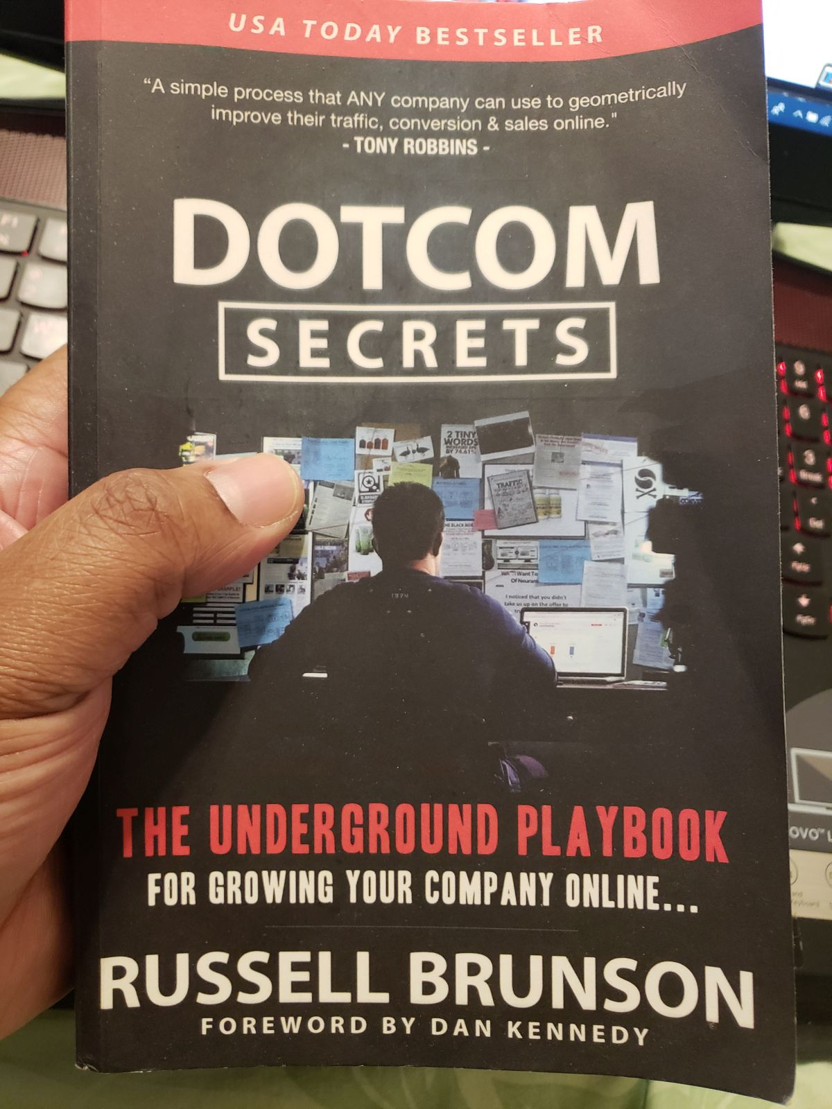 DotCom Secrets by Russell Brunson Book
