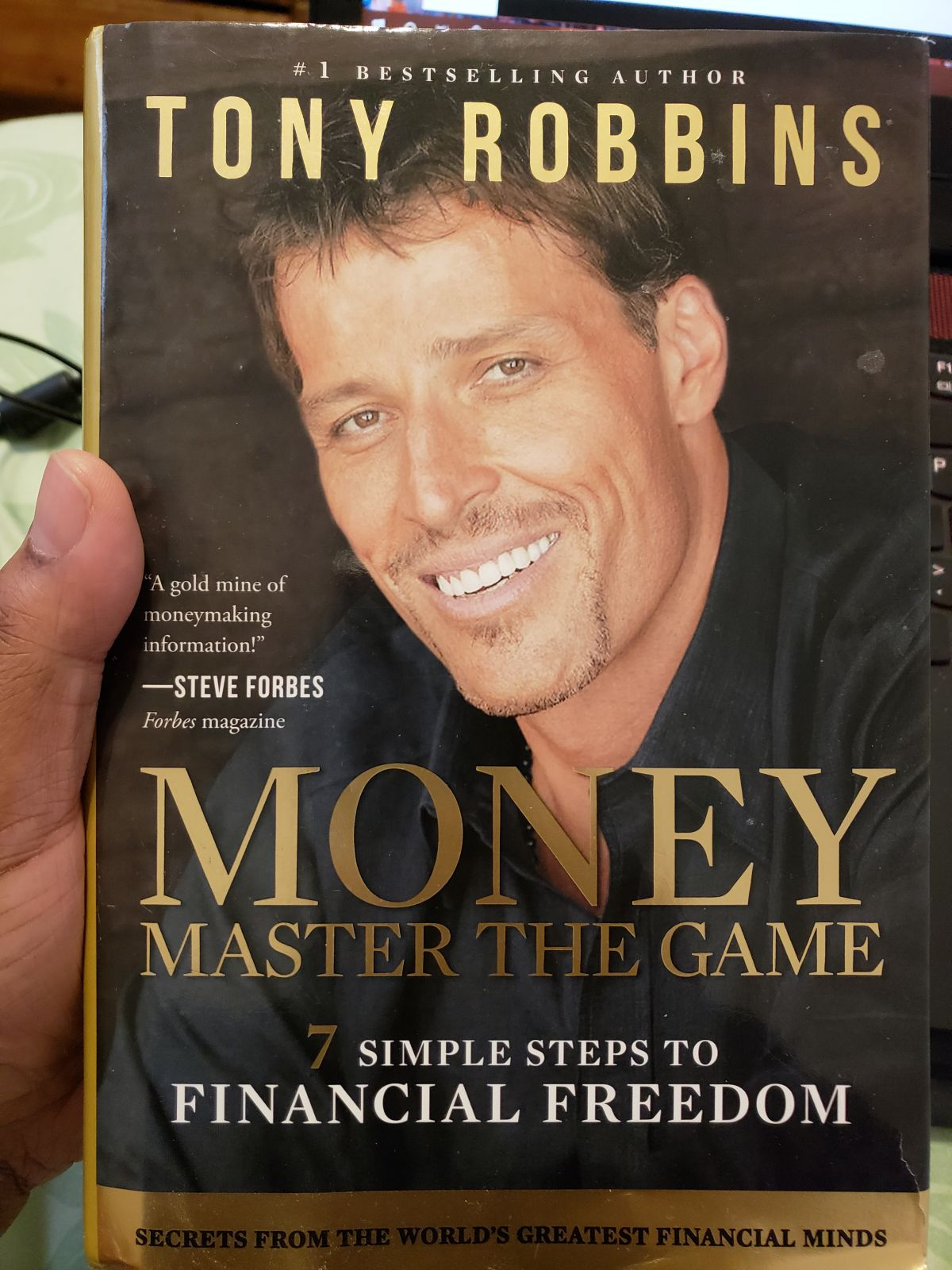 MONEY Master The Game by Tony Robbins. 7 Simple Steps To Financial Freedom