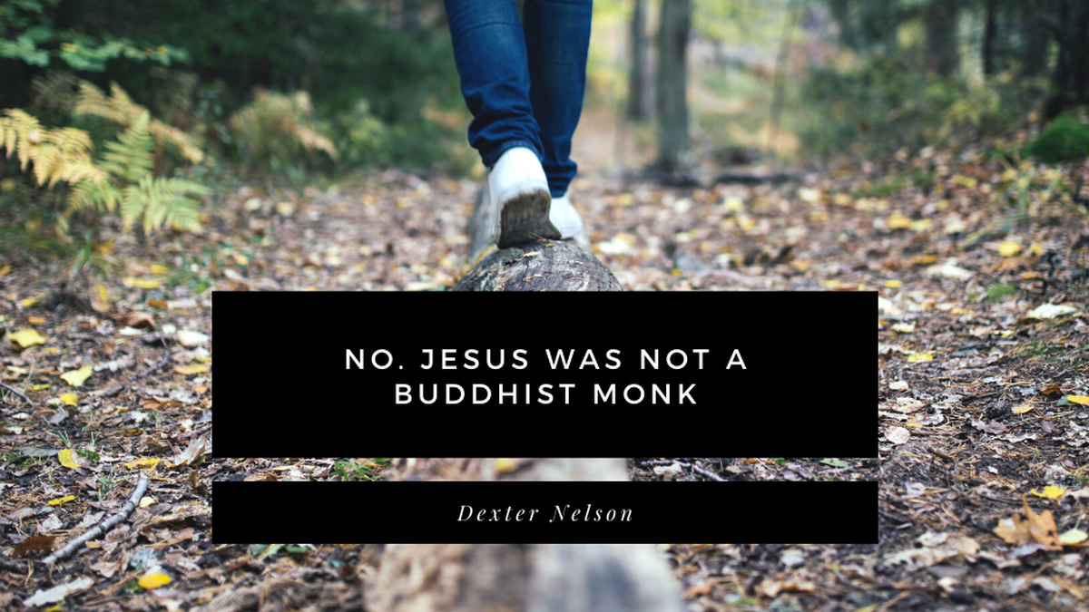No. Jesus was not a Buddhist monk
